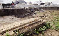Perajin Batu Bata Trowulan