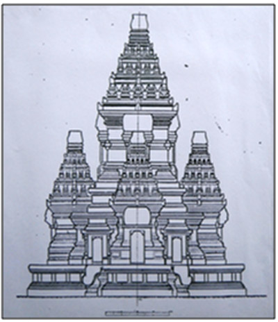 Gambar Mewarnai Candi Borobudur Candi Prambanan Dll