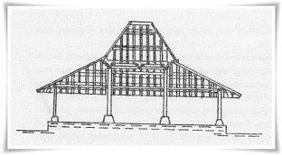 840 Koleksi Gambar Rumah Adat Joglo Untuk Mewarnai Terbaru